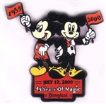 Disney Trading Pins 45 Years of Magic (1955-2000)