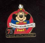 Disney Trading Pin 20697: WDW Flex - 75 Years With Mickey (Mickey Mouse Club)
