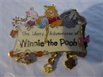 Disney Trading Pins The Many Adventure's of Winnie the Pooh (Dangle)
