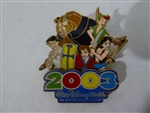 Disney Trading Pin 21388 WDW - 2003 The Magical Place To Be (Heroes)