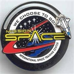 Disney Trading Pin Mission Space: International Space Training Center (Slider/3D)