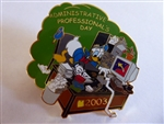 Disney Trading Pin 21564 WDW Cast Exclusive - Administrative Professional's Day 2003 (Donald)