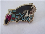 Disney Trading Pin  21909 DLR - Character Name (Eeyore) Free D