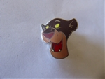 Disney Trading Pins  22273 Disney Catalog - Jungle Book Boxed Pins #1 Character Heads (Bagheera) silver prototype
