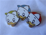 Disney Trading Pin  22451 Disney Catalog - Donald's Family Tree Boxed Pin Set (3 Nephews) Silver Prototype