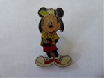 Disney Trading Pins  DLR - Tourist Mickey Mouse Silver Epoxy Production Sample