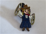 Disney Trading Pin 23061 DL - Small World Cow Girl with Lasso from Boxed Set