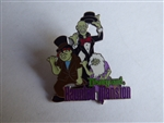 Disney Trading Pin 236 DL - 1998 Attraction Series - Haunted Mansion (Hitchhiking Ghosts)