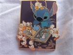 Disney Trading Pin 23755: Stitch Reading the Ugly Duckling