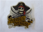 Disney Trading Pins 23857 Disney Pirates Framed Set Logo Pin