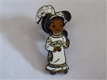 Disney Trading Pin  23888 DL - Small World Girl with White Feather Headdress from Boxed Set
