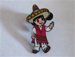 Disney Trading Pin  23916 DL- It's a Small World Hispanic Boy from Boxed Set
