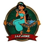 Disney Trading Pin Princess Swirl Series (Jasmine)