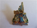 Disney Trading Pin  24103 WDW - Lilo & Stitch in Front of Cinderella's Castle (3D)