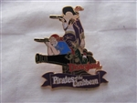 Disney Trading Pin 247 DL - 1998 Attraction Series - Pirates of the Caribbean