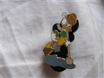 Disney Trading Pin 24811: Colonial Louie Ducks Helps Row Across the Delaware River