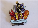 Disney Trading Pin  25168 DLR - 13 Treats in 5 Frightful Weeks Series (Cat in the Box Attic Scene)