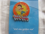 Disney Trading Pins 2526: Disneyana 2000 Small World Series -- #8 'And One Golden Sun'