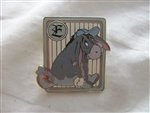 Disney Trading Pin 25466 WDW - Cast Lanyard Series 2 (100 Acre Baseball/Eeyore)