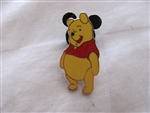 Disney Trading Pin 25509 Winnie the Pooh Smiling with Tummy Out