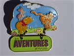 Disney Trading Pins 25549 DLRP - Pooh, Tigger & Piglet (Piglet's Big Movie)