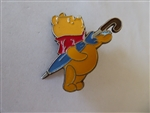Disney Trading Pins 26007 Winnie the Pooh with his Grey Umbrella