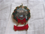Disney Trading Pin 26319: DLR - Disneyland Castle Holiday 2003