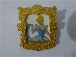 Disney Trading Pin 26535: Princess Portraits (Cinderella) 3D