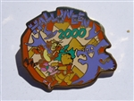 Disney Trading Pins 2677 Halloween 2000 Pooh & Friends