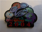 Disney Trading Pin 26853 WDW - 2004 Walt Disney World Logo Fireworks
