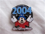Disney Trading Pin 26854 WDW - Sorcerer Mickey Mouse Holding 2004