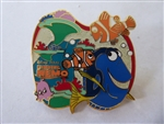 Disney Trading Pin 26888 M&P Finding Nemo - Marlin, Nemo, Dory and Pearl