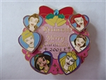 Disney Trading Pins 27005 M&P Christmas 2003 ALL Princess - 3D Sparkle Stone