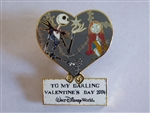 Disney Trading Pins 28184 WDW - Sweetheart Collection (Jack and Sally)