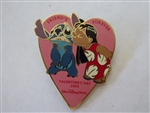 Disney Trading Pin  28190 Sweetheart Collection - Lilo and Stitch