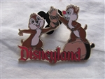Disney Trading Pin 28232 DLR - Chip and Dale Disneyland Resort Logo
