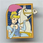 Disney Trading Pin 28287: Princesses With Their Horses (Cinderella & Major)