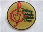 Disney Trading Pin 284: Disney Magic Music Days