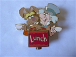 Disney Trading Pin 28675 Disney Auctions - Character Lunchbox (Mad Hatter & March Hare)