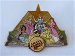Disney Trading Pin 28830 WDW - Lights, Camera, Pins #8 (Princess Hand Prints)