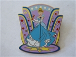 Disney Trading Pin 29044 WDW - Lights, Camera, Pins! #22 - Princess Boxed Set (Cinderella Only)