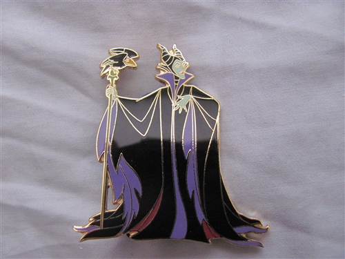 Disney Auction (P I N S ) - Standing Maleficent w/Diablo