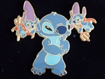 Disney Trading Pins 29706 Disney Auctions (P.I.N.S.) - Stitch with Devils