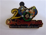 Disney Trading Pin 3: Celebrate The Future Hand in Hand - 2000 (Mickey, Donald, Goofy)