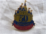 Disney Trading Pin 30085: Disneyland 50th Anniversary - Happiest Homecoming on Earth