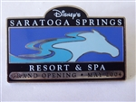 Disney Trading Pins 30334 DVC Exclusive - Saratoga Springs Opening