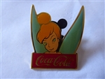 Disney Trading Pins 3053 WDW - Cast 15th Anniversary Coca-Cola Framed Set (Tinker Bell)