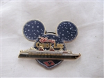 Disney Trading Pin 3069 DCL - Mickey Head Starry Night