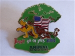 Disney Trading Pins 30730 WDW - 4th of July at Disney's Animal Kingdom (Pluto, Chip & Dale)