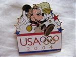 USA Olympic Logo - Mickey With Torch